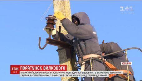 В частный сектор Вилково до сих пор не подали свет и тепло