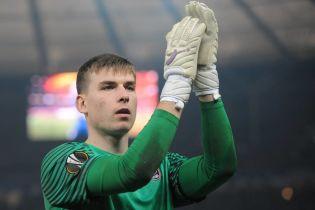 Лунін став наймолодшим воротарем збірної України за всю історію