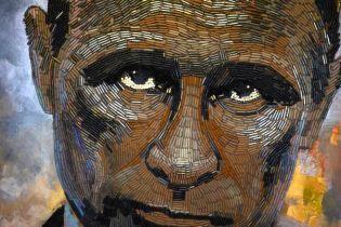 """""""Напоминает об ужасах войны"""": в Нью-Йорке на выставке представили гильзовый портрет Путина"""