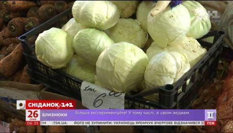 Яких цін на капусту варто очікувати