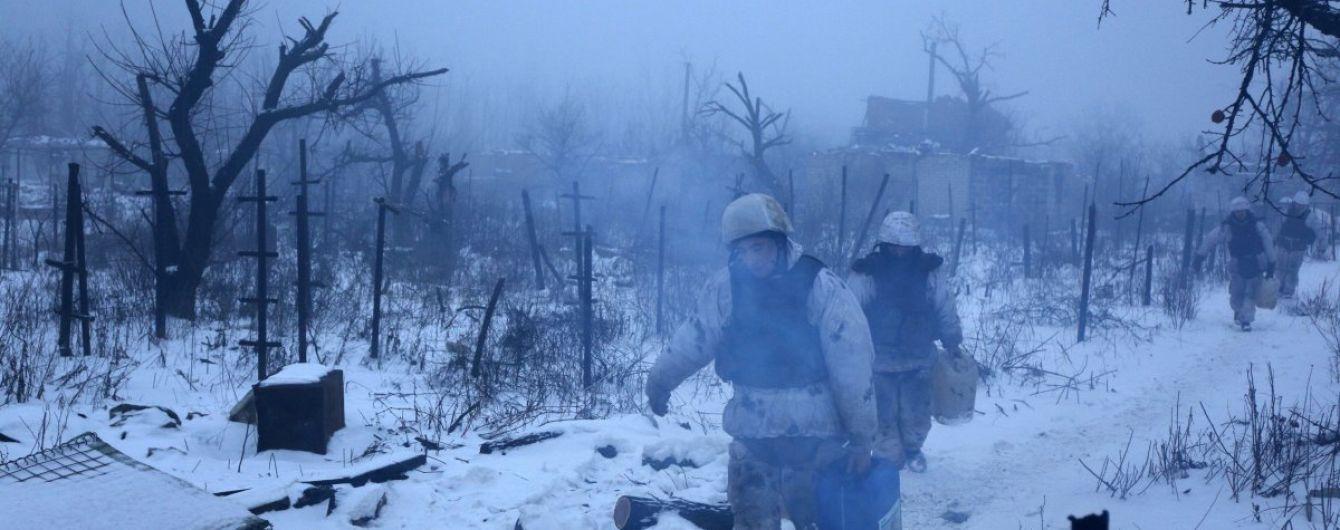 На занесеному снігом Донбасі бойовики здійснили один обстріл. Хроніка АТО