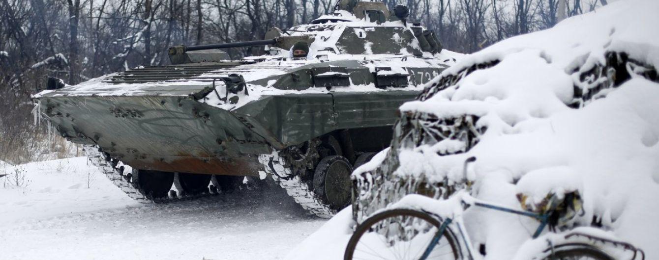 У зоні АТО бойовики поранили чотирьох українських військових