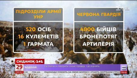 Незабутній подвиг: Україна згадує бій під Крутами