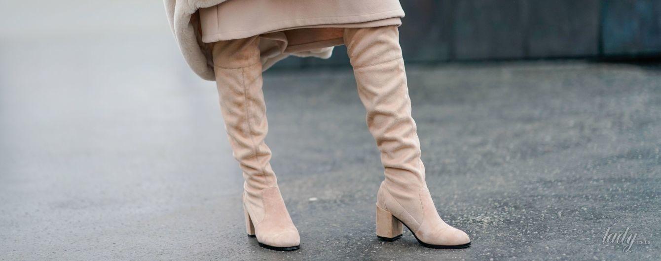 Как носить ботфорты