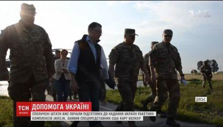 """США готовятся к предоставлению Украине противотанковых ракетных комплексов """"Джавелин"""""""