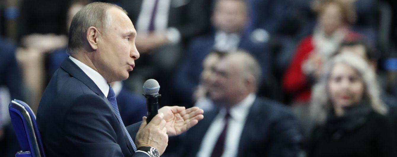 На виборах у РФ Путін може проголосувати в Севастополі - ЗМІ