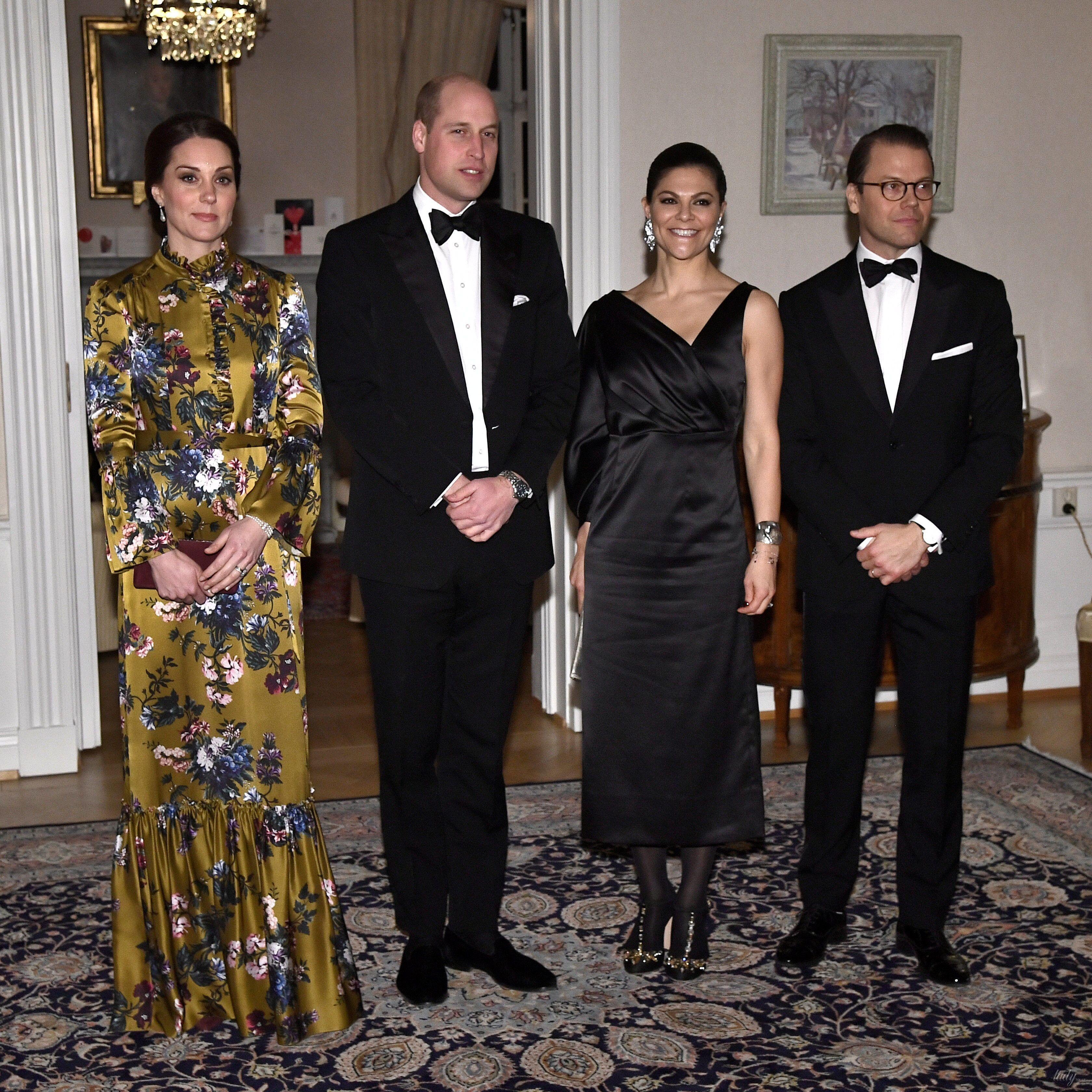 Герцогиня Кембриджская и принц Уильям в Швеции_2
