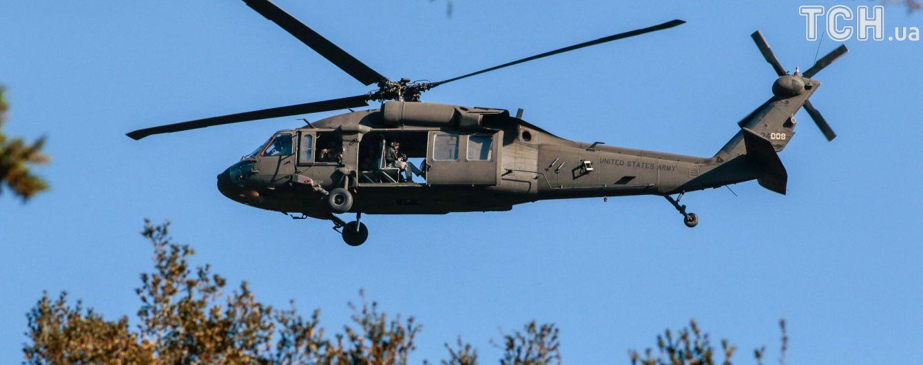 В Японии рядом со школой разбился военный вертолет