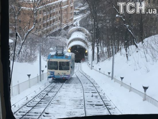 У Києві зламався фунікулер