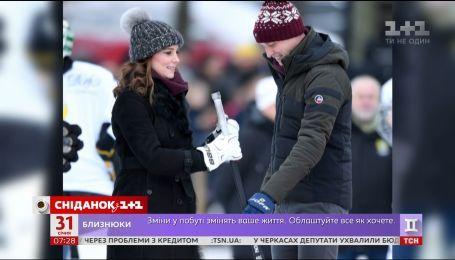 Кейт Миддлтон сыграла в хоккей на пятом месяце беременности