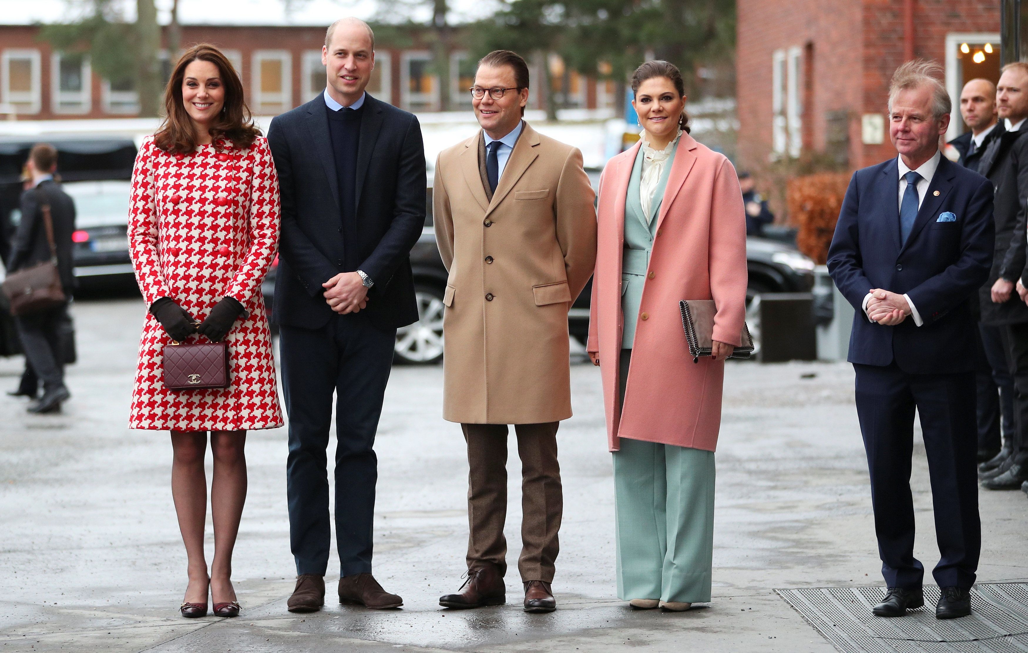 Герцогиня Кембриджская Кэтрин в Швеции_3