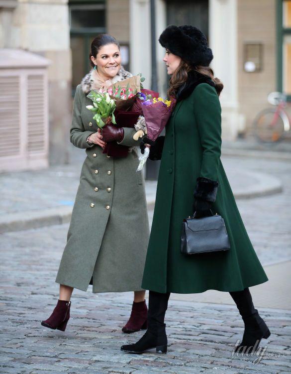 Герцогиня Кембриджская Кэтрин в Швеции_5
