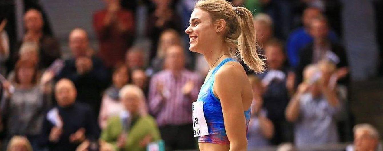 Украинская прыгунья Левченко повторила национальный рекорд на турнире в Германии