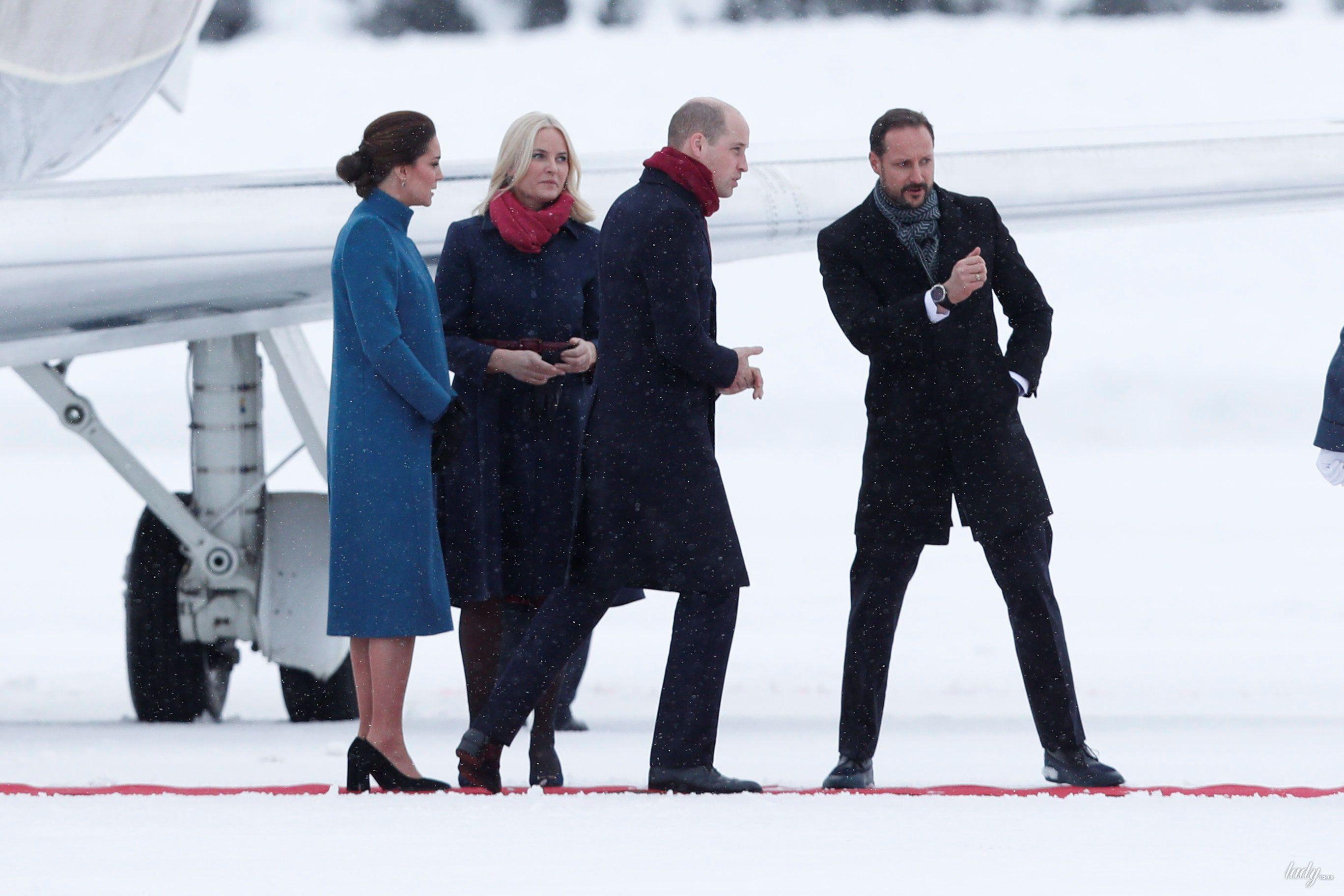 Герцогиня Кембриджская и принц Уильям в Норвегии_1