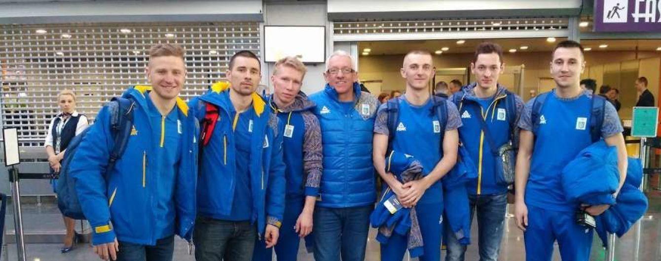 Мужская биатлонная сборная отправилась на Олимпийские игры