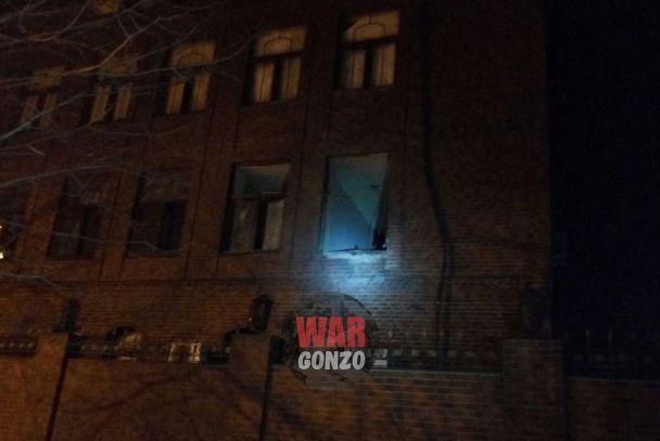 """У вікно кабінета """"міністра оборони ДНР"""" поцілили з гранатомета"""