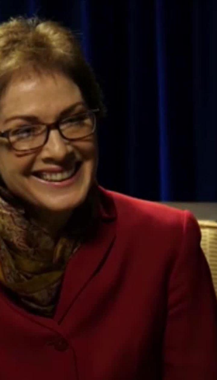 """Йованович прокоментувала чутки про """"таємну кімнату"""" у посольстві США"""