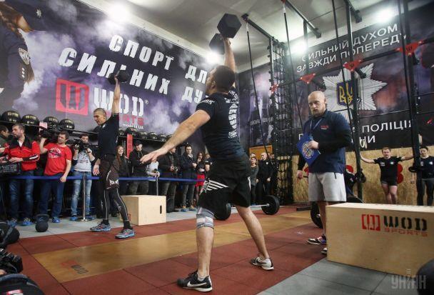 Николаевские патрульные оказались сильнейшими на первых всеукраинских соревнованиях среди копов