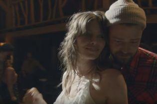 Романтика зашкалює: Тімберлейк вперше зняв дружину-акторку у зворушливому кліпі