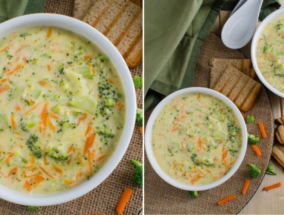 Крем-суп із броколі