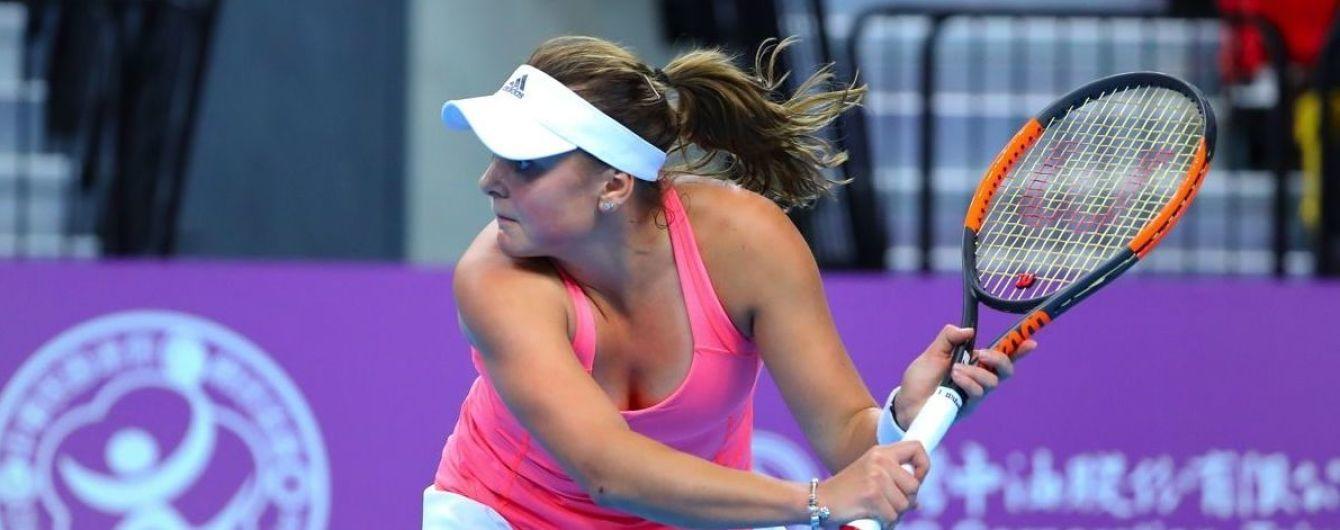 Украинка Козлова пробилась в полуфинал турнира в Тайбэе