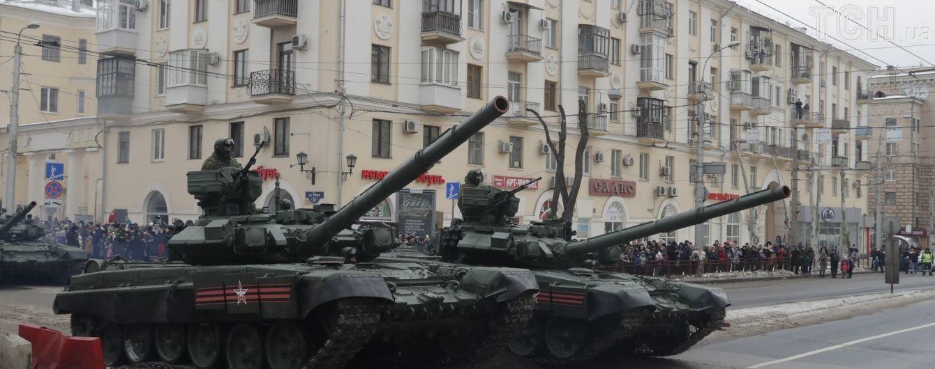 В Минобороны подсчитали, сколько российских танков на Донбассе