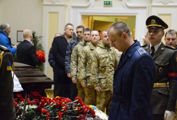 У Києві попрощалися з Леонідом Каденюком