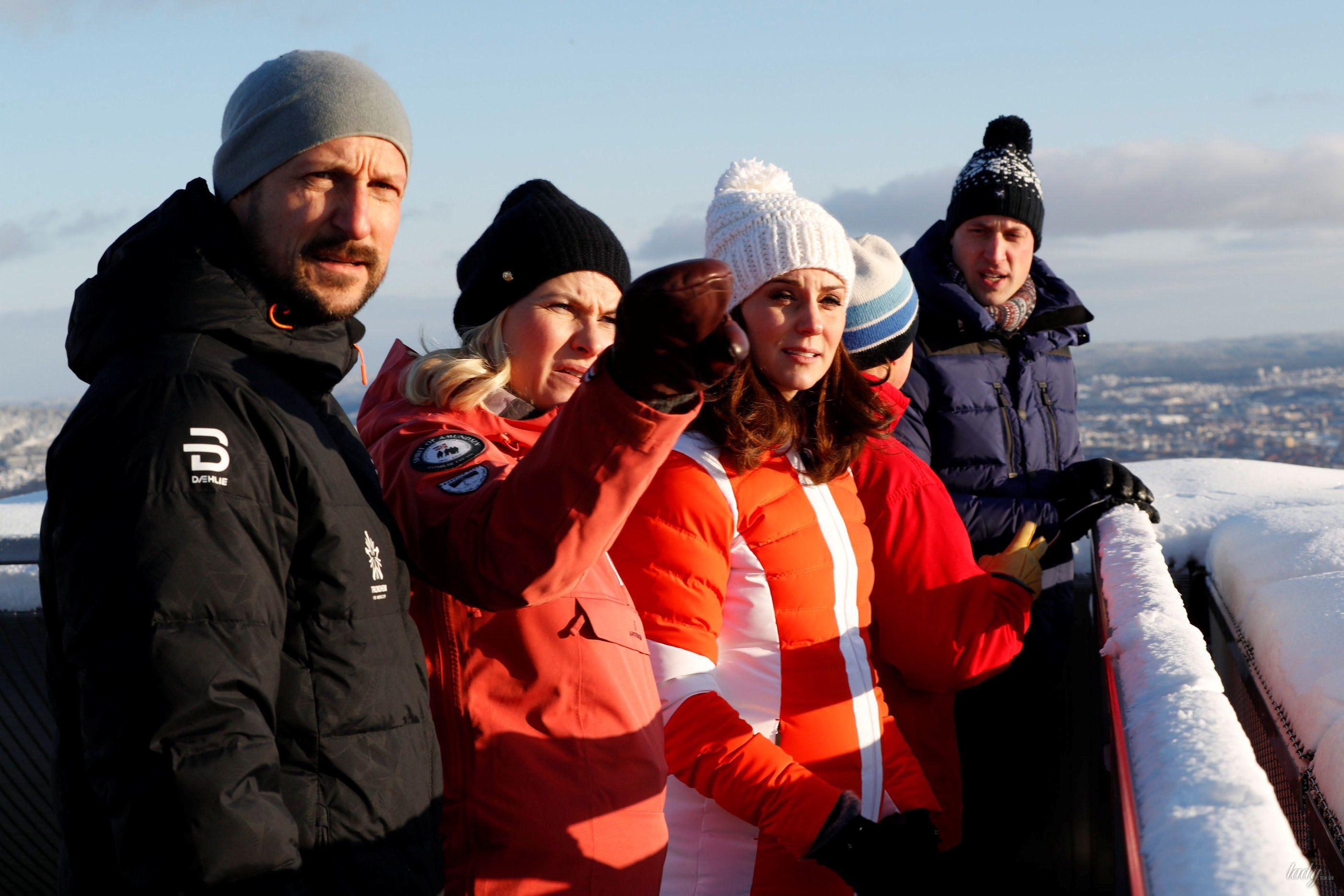 Герцогиня Кембриджская и принц Уильям в Норвегии_2
