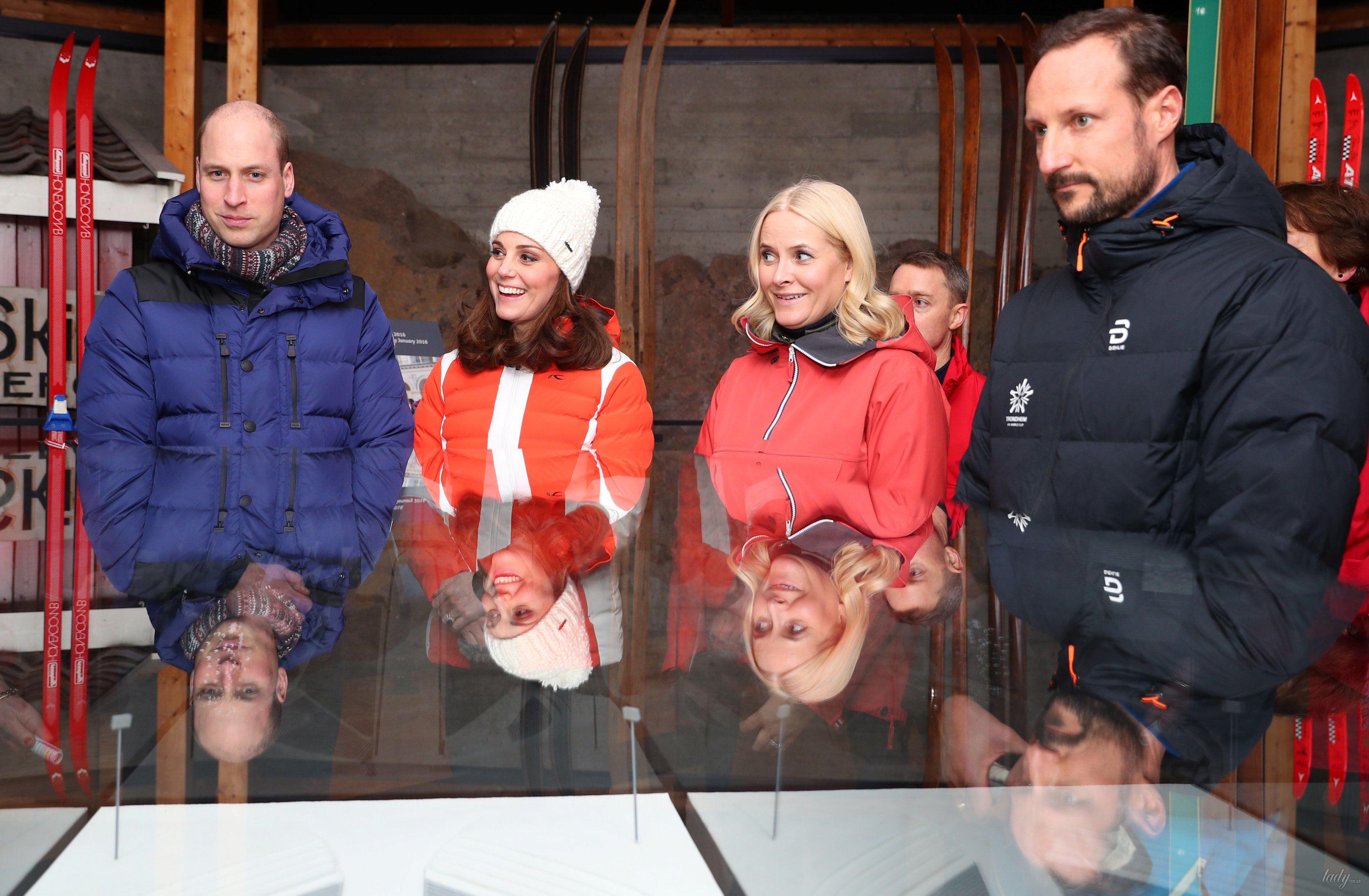 Герцогиня Кембриджская и принц Уильям в Норвегии_4