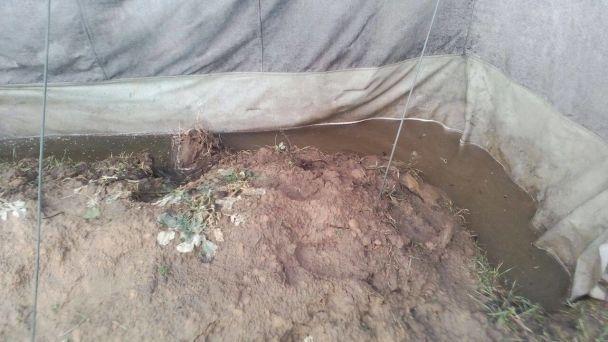 Діряві намети і вода до колін. Військових відправили на затоплений Гончарівський полігон