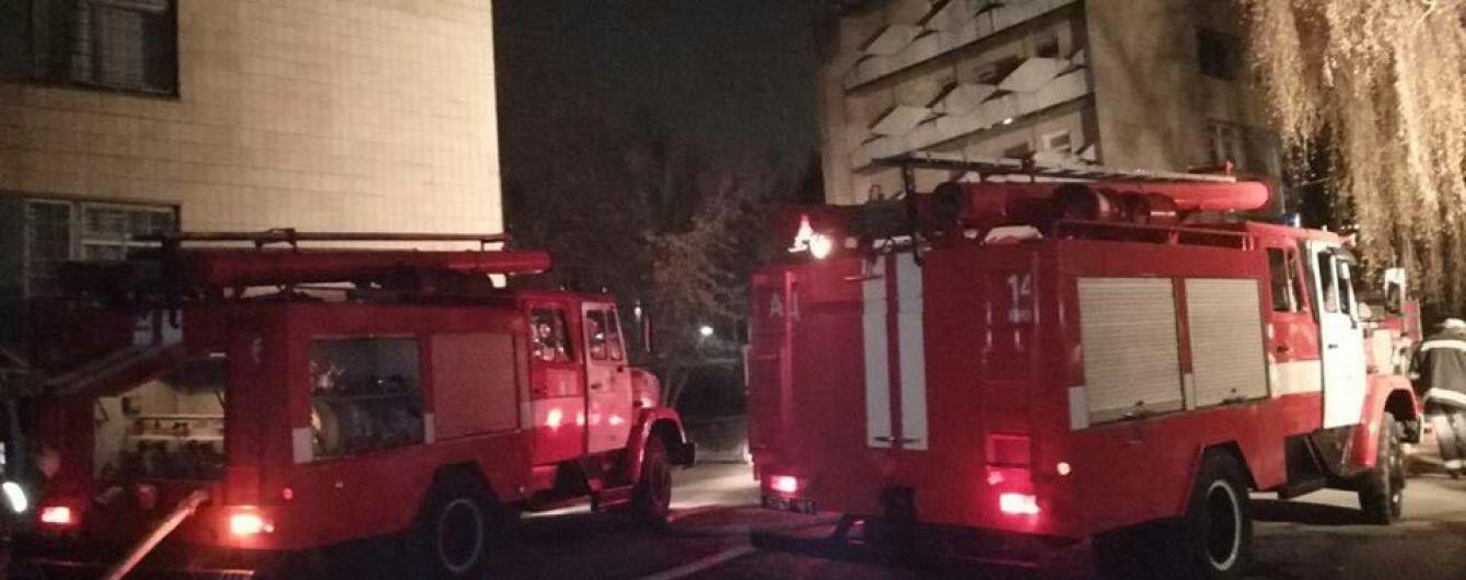 В Киеве произошел пожар в детской психбольнице