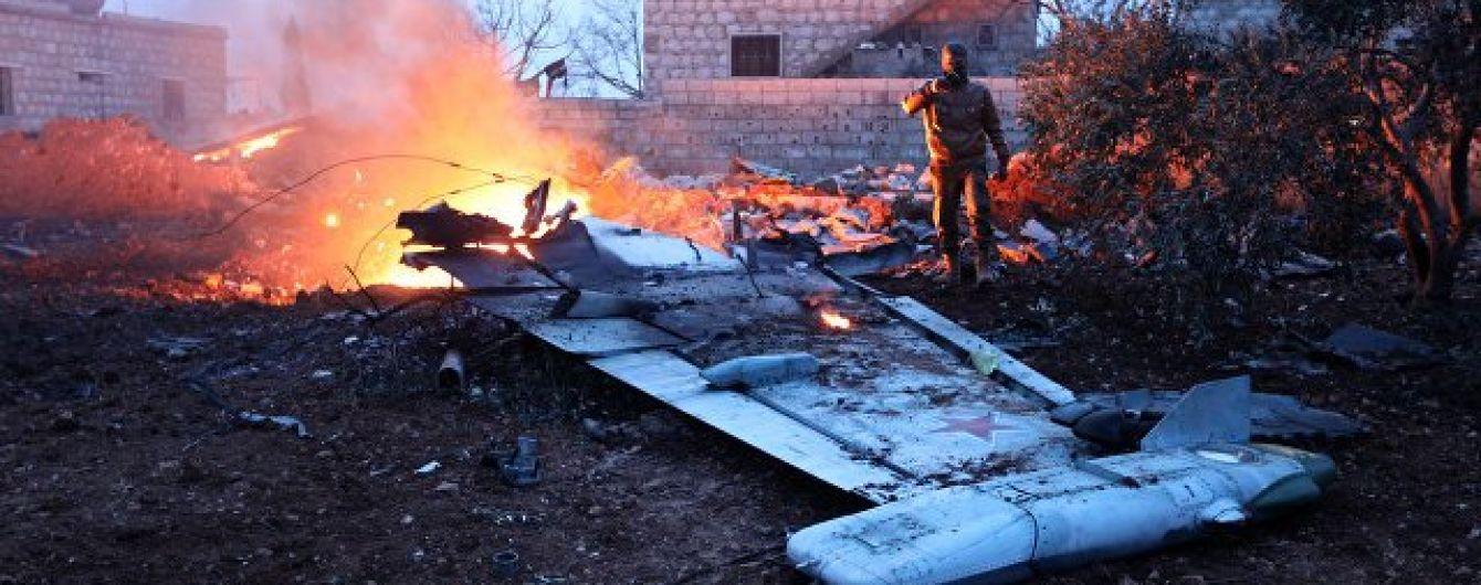 Російський пілот загинув після падіння Су-25 у Сирії