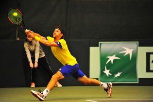 Сборная Украины по теннису потерпела поражение в решающем матче против Швеции на Кубке Дэвиса