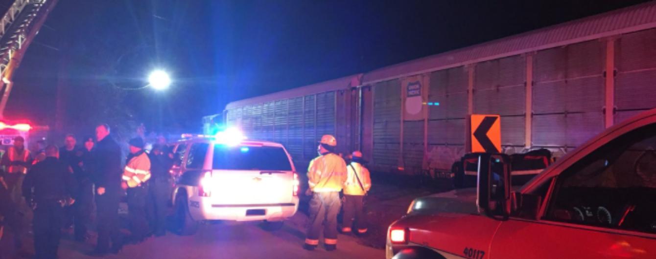 У США зросла кількість постраждалих унаслідок зіткнення потягів