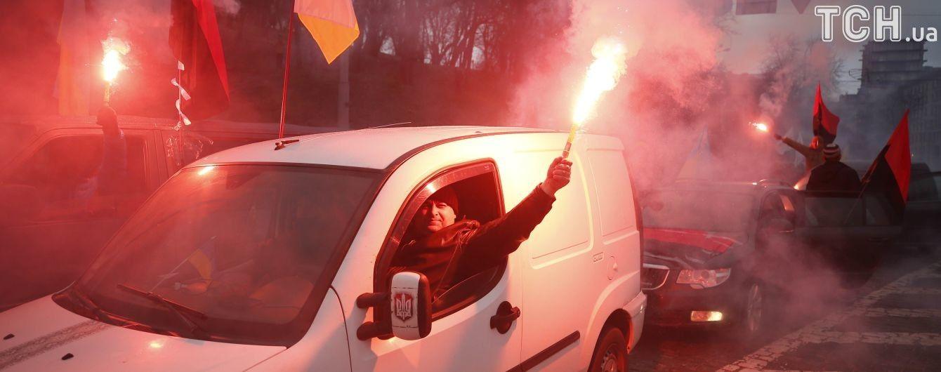 У поліції нарахували 2,5 тисячі прихильників Саакашвілі, які вийшли вимагати відставки Порошенка