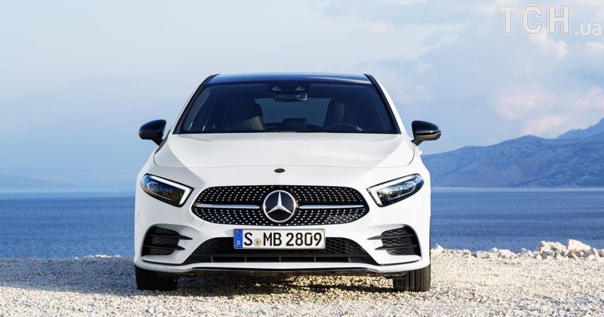 Mercedes-Benz A-Class @ newspress.co.uk