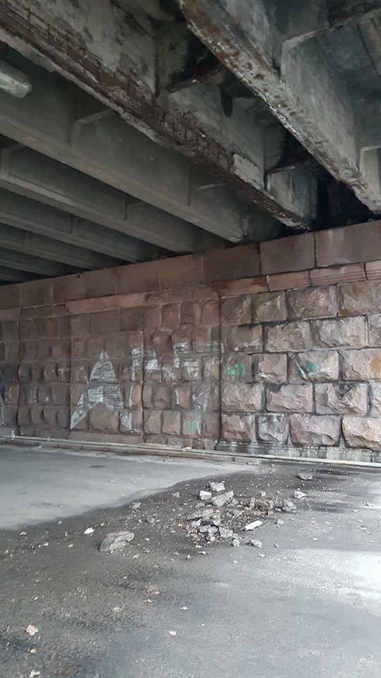 Воздухофлотский мост, путепровод