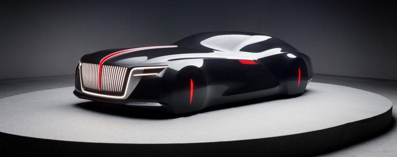 Китайцы представили представительский автомобиль будущего