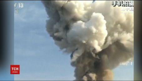 У Китаї прогримів потужний вибух на південному сході країни