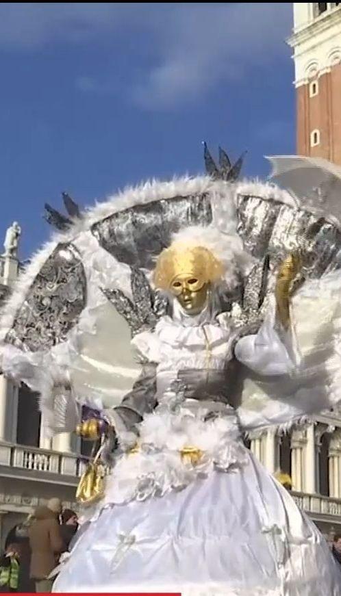 В Венеции начался знаменитый карнавал