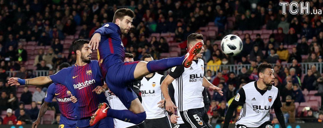 """""""Барселона"""" втратила захисника на місяць, він пропустить битву з """"Челсі"""""""