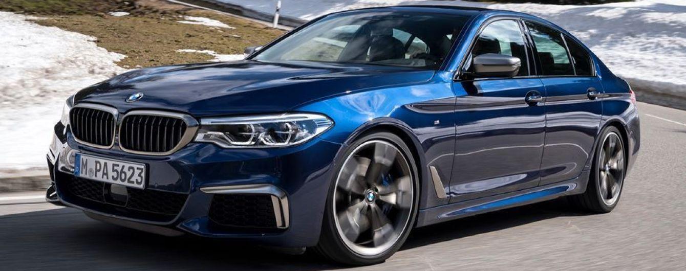Новые BMW M550i некоторое время не будут производиться для европейского рынка
