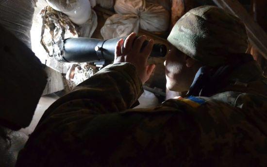 Від початку доби бойовики вже 12 разів обстріляли українських військових
