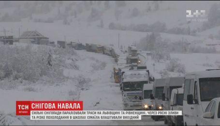 В Україні очікують різкого зниження температури та опадів