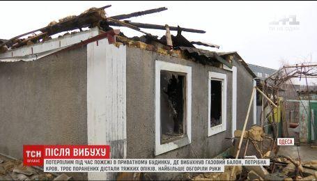 В Одесской области собирают кровь для пострадавших в результате пожара в частном секторе