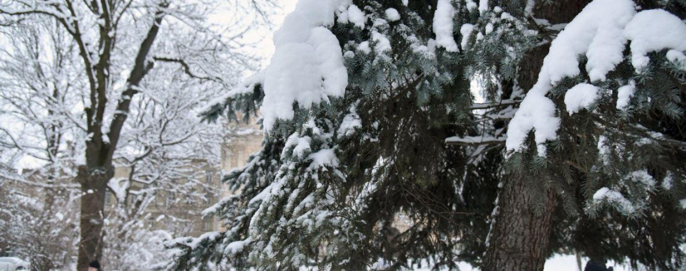 """Циклон """"Мартина"""" завис над Украиной вместе со снегопадами, потому что его сдерживает антициклон из России"""