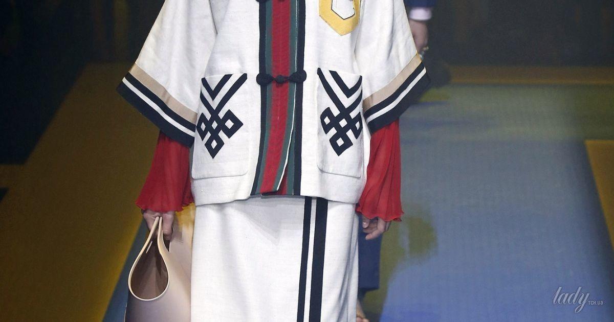 Коллекция Gucci прет-а-порте сезона весна-лето 2018 @ East News
