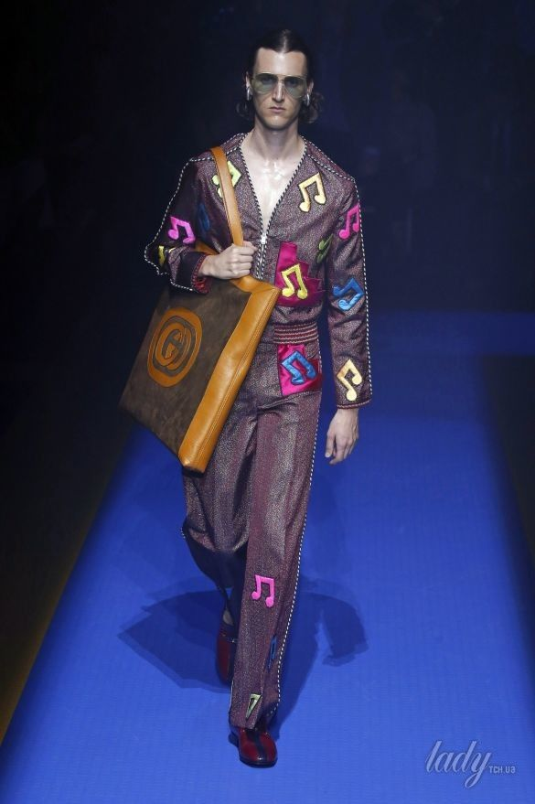 Коллекция Gucci прет-а-порте сезона весна-лето 2018_97