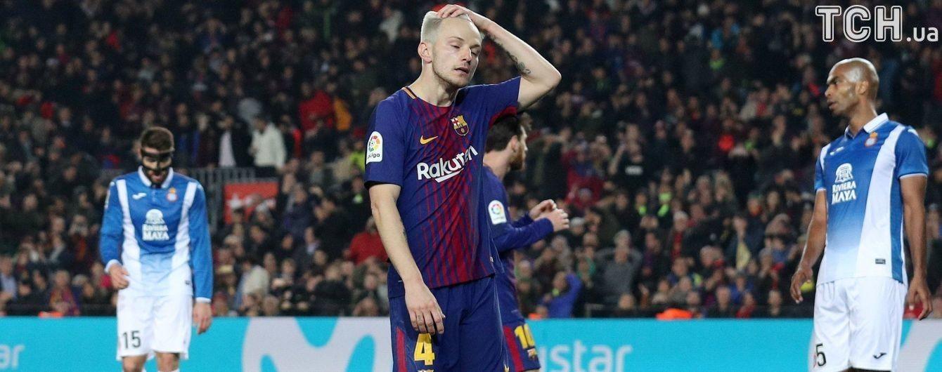 """Футболист """"Барселоны"""" нанес идеальный и в то же время непревзойденный удар на тренировке"""