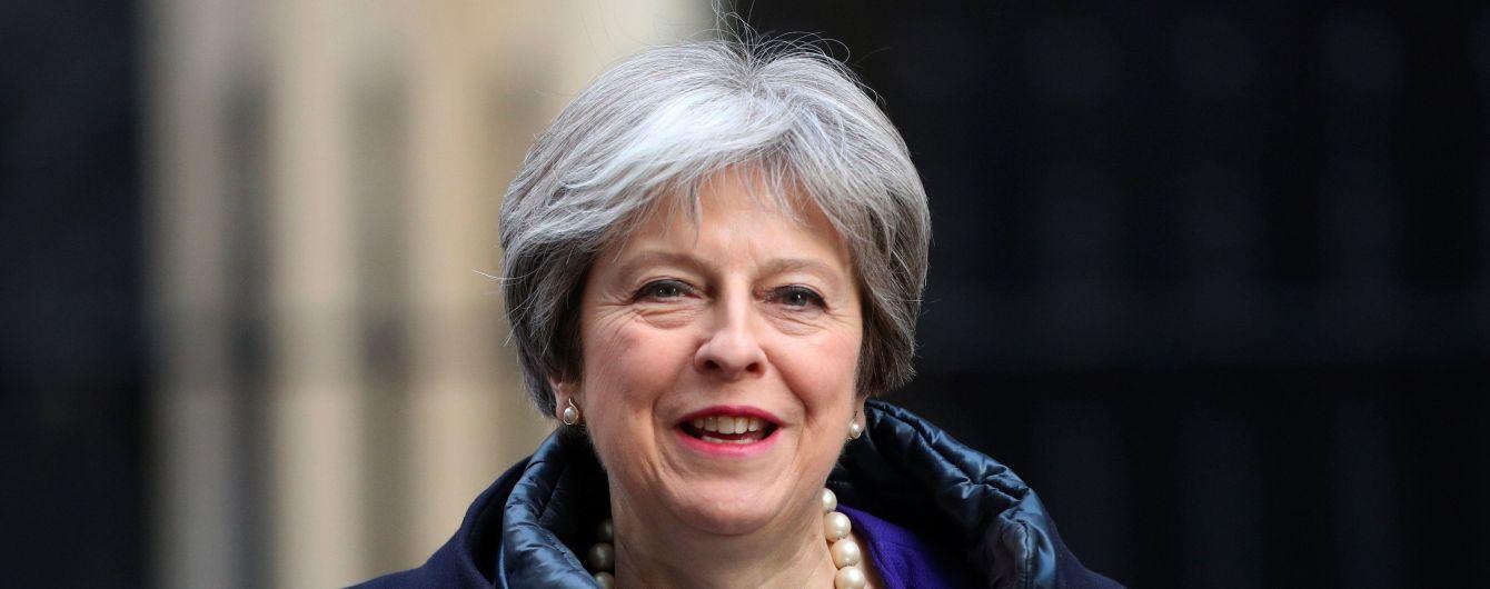 Премьер Британии призвала ЕС заключить договор о безопасности, который будет действовать после Brexit